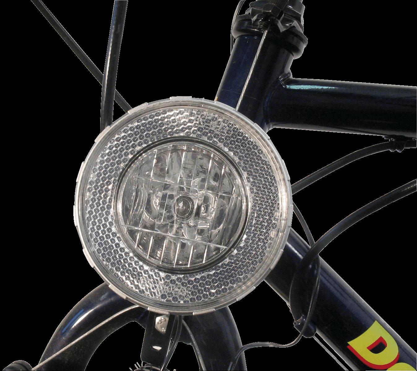 BIKE 40091 - Fahrrad-Scheinwerfer, Halogen, silber