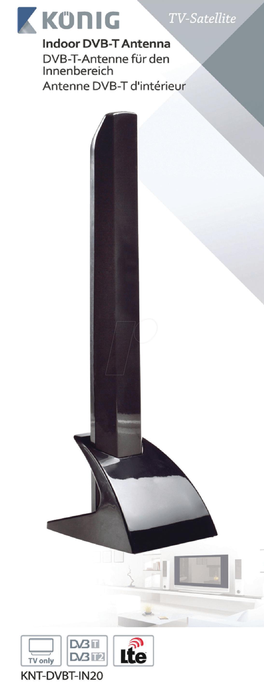 KNT-DVBT-IN20: DVB-T Antenne 15dB bei reichelt elektronik