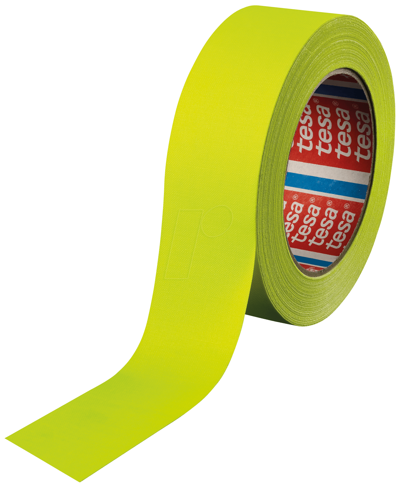 tesa 4671ge 25 highlight fabric tape neon yellow 25 mm at reichelt elektronik. Black Bedroom Furniture Sets. Home Design Ideas
