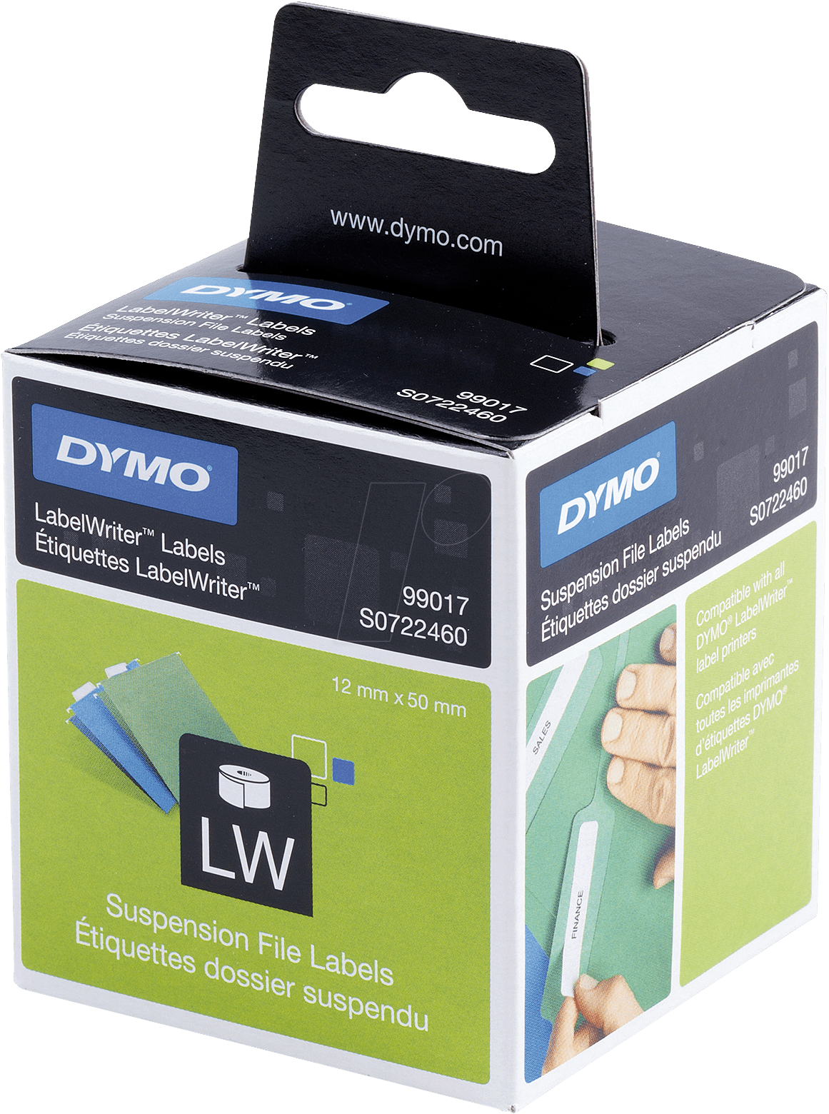 Dymo lw 99017 dymo labels for labelwriter 12 x 50 mm at for Dymo label stickers
