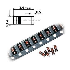 MajorBrand SMD ZF 75 - Chip-Zener-Diode 0,5W 75V