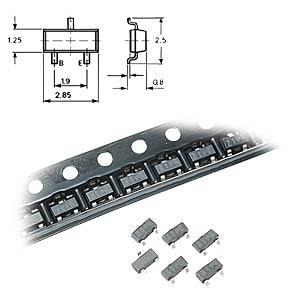MajorBrand SMD ZD 3,3 - Chip-Zener-Diode 0,35W 3,3V