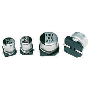 MajorBrand SMD ELKO 2,2/50 - SMD-Chip Elko, 2,2µF/50Volt