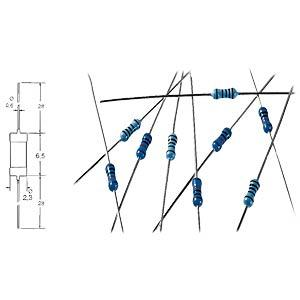 YAGEO METALL 27,0K - Metallschichtwiderstand 27,0 K-Ohm MF0207FTE52-27K