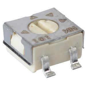 BI TECHNOLOGIES 23B-500K - SMD Cermet Trimmer, 500 kOhm 23BR500KLFTR