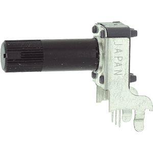 RK09K111-LIN10K - ALPS Drehpoti. linear, 6mm, mono, 10K 203299