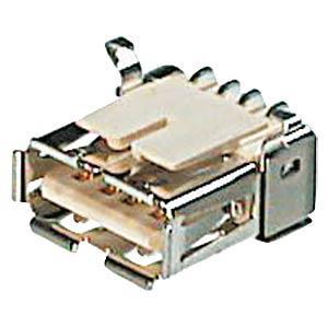 ASSMANN ELECTRONIC USB AW SMD - USB-Einbaubuchse, Serie A, gew., SMD-Montage A-USB-A/SMT