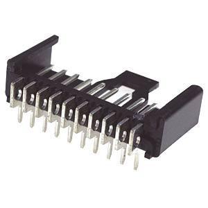 LUMBERG LU 2,5 MSFW 2 - Stiftleiste, gewinkelt, RM 2,5, 2-polig