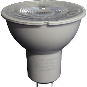 hq lgu10mr16004 dimmbare led lampe mr16 gu10 5 5w 350 lm k eek a bei reichelt elektronik. Black Bedroom Furniture Sets. Home Design Ideas