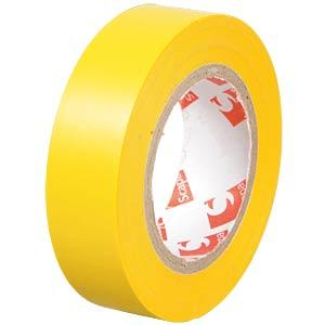 MajorBrand ISOBAND GE - VDE-Isolierband, 10 m, Breite: 15 mm, gelb