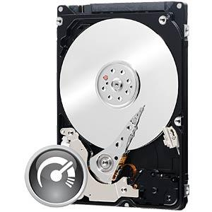 WESTERN DIGITAL WD3200BEKX - Notebook-Festplatte, 320 GB, WD Black