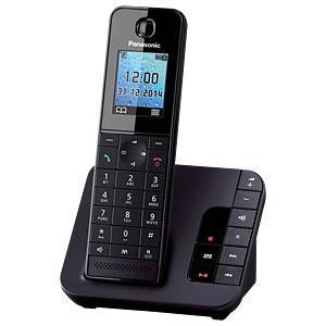 kx tgh220gb dect telefon 1 mobilteil mit ladeschale ab. Black Bedroom Furniture Sets. Home Design Ideas