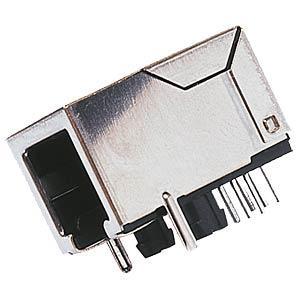 MajorBrand MEBP 6-6G - Modular-Einbaubuchse 6/6, geschirmt