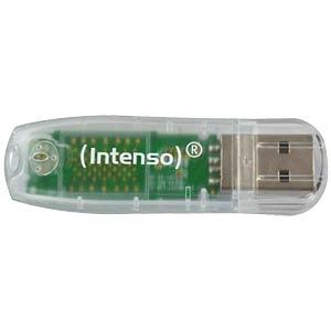 INTENSO RBL 32GB - USB2.0-Stick 32GB Intenso Rainbow-Line 3502480
