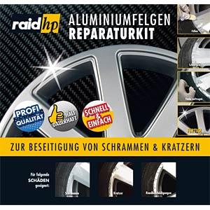 raid 340001 kfz aluminiumfelgen reparatur kit silber bei reichelt elektronik. Black Bedroom Furniture Sets. Home Design Ideas